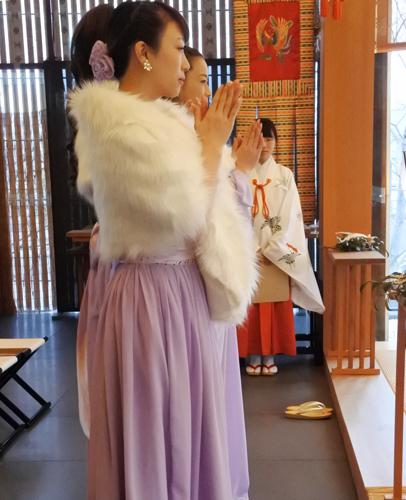 音楽の調べと朗読劇「やさしい手紙」の成功祈願祭を斎行しました。