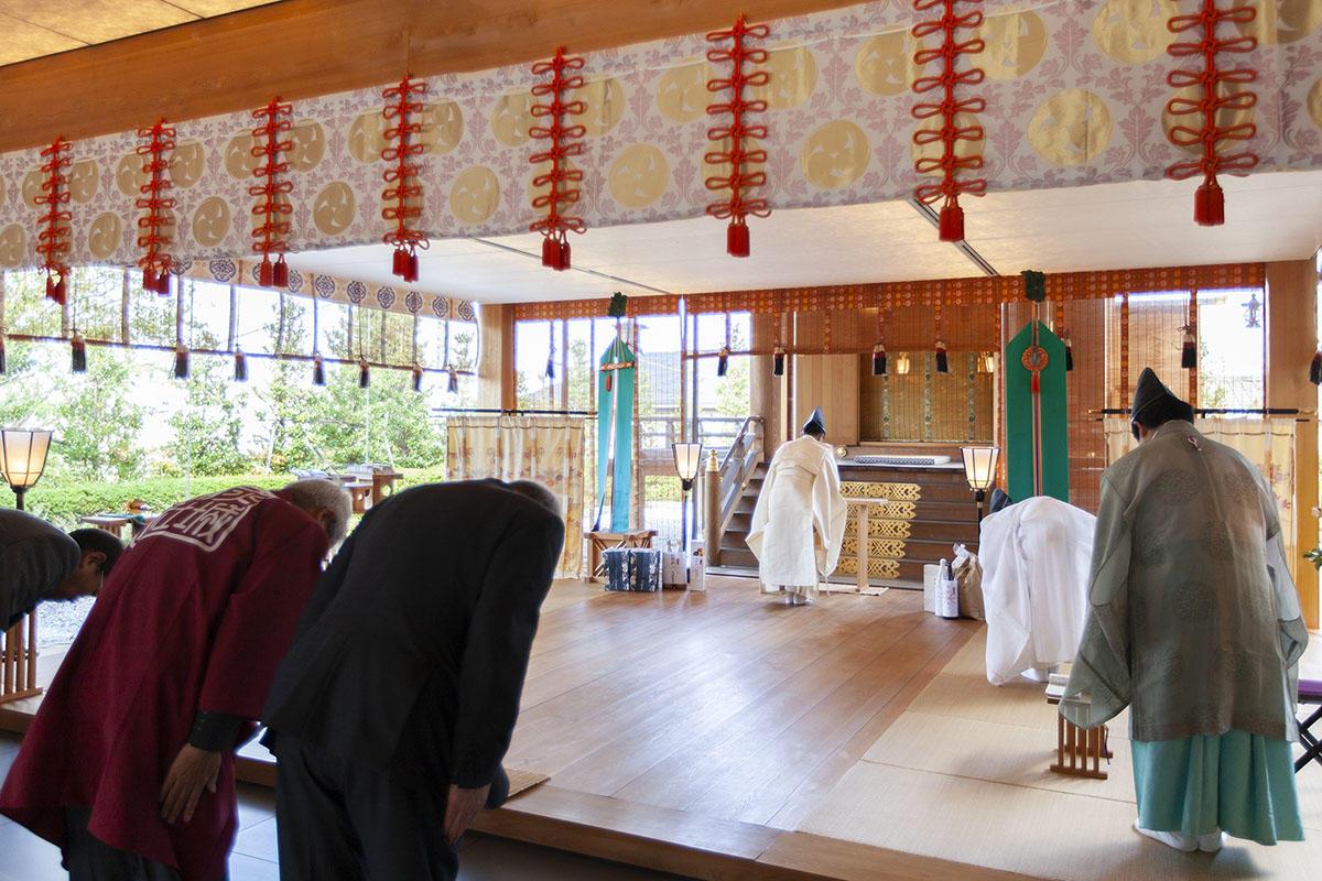 令和元年11月14日(木)大嘗祭は無事に斎行されました